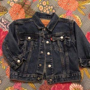 Vintage Levi's toddler jean jacket